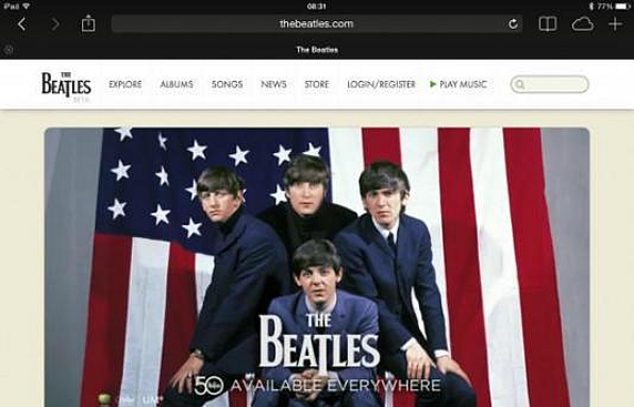The Official Beatles Website