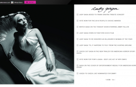 The Official Lady Gaga Website